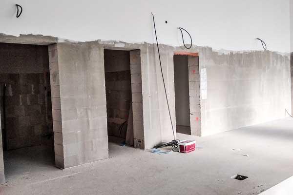 Sanierung von Badezimmern