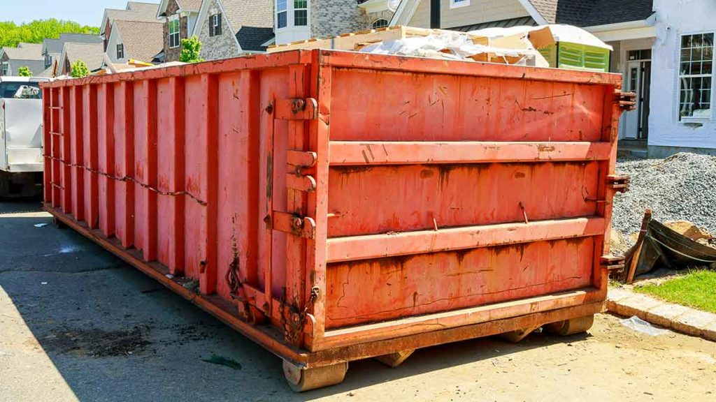 DemoRec Darmstadt stellt Abrollcontainer in jeder Grüße