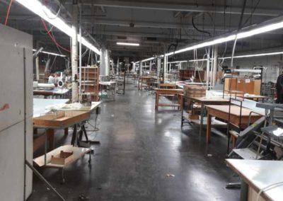 Entrümpelung und Auflösung einer Werkshalle